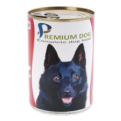 Apetit - konzerva pro psy - hovězí 855g