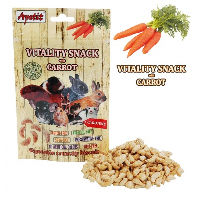 Apetit - VITALITY SNACK with CARROT 80g