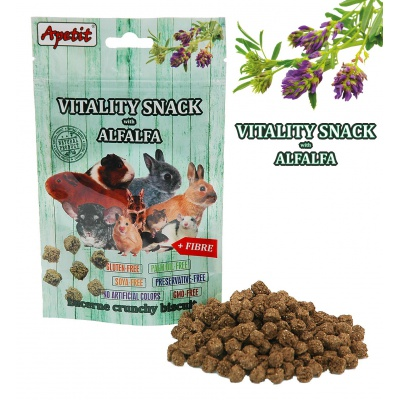 Apetit - VITALITY SNACK with ALFALFA 80g