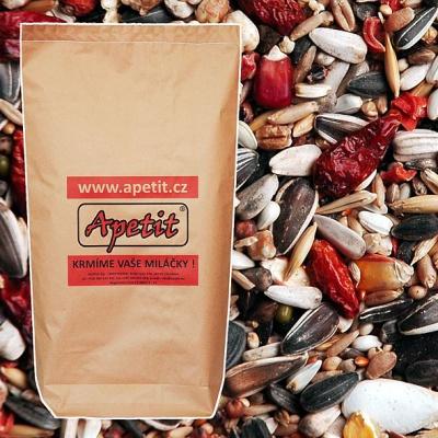 Apetit - PEPPERS MIX pro papoušky s papričkami 25kg
