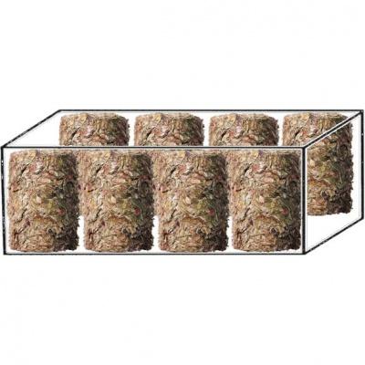Futter Rollen - lisované bloky/ karton ( nebalené) 21kg