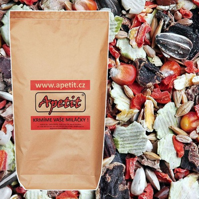 Apetit - CHINCHILLA MIX pro činčily 25kg