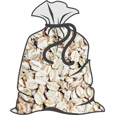 Vločky ovesné (běžné balení 15kg)