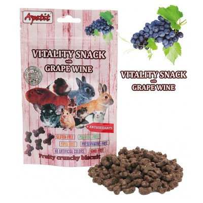 Apetit - VITALITY SNACK with GRAPE WINE 80g