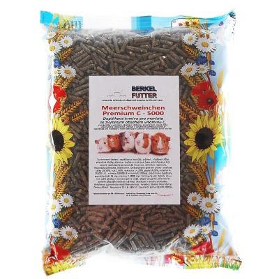 Berkel Meerschweinchen Premium C pro morčata 800g
