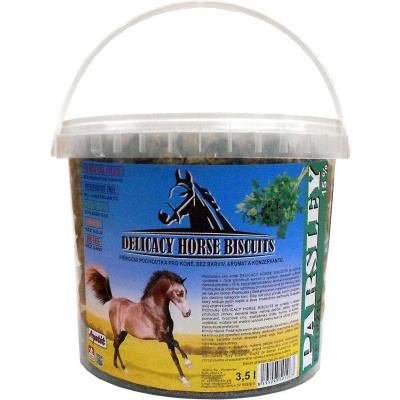 Apetit - DELICACY HORSE BISCUITS - PARSLEY 3,5 l