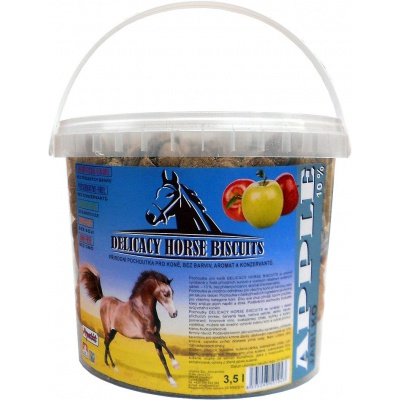 Apetit - DELICACY HORSE BISCUITS - APPLE 3,5 l