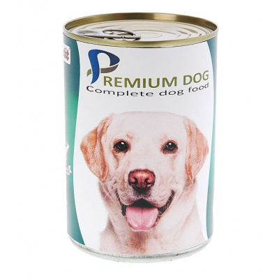 Apetit - PREMIUM DOG zvěřinová konzerva pro psy 855g AKCE