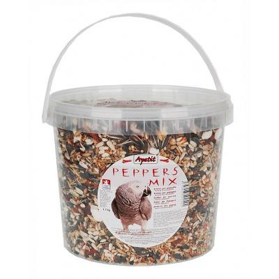 Apetit - PEPPERS MIX pro papoušky s papričkami 1,7kg