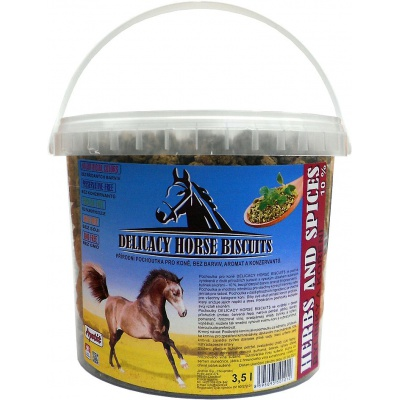 Apetit - DELICACY HORSE BISCUITS - HERBS AND SPICES 3,5 l