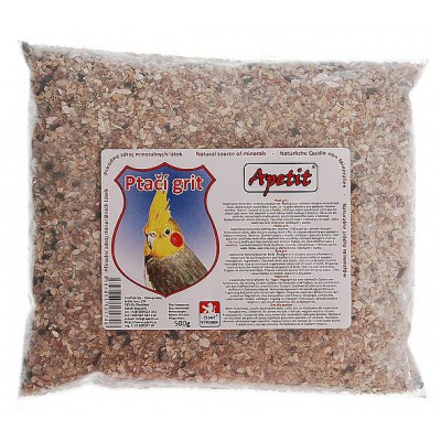Apetit - Ptačí grit 500g