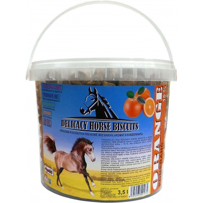 Apetit - DELICACY HORSE BISCUITS - ORANGE 3,5 l